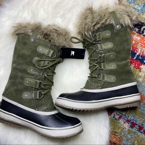 Sorel Joan of Arctic Nori Leather Waterproof Boots